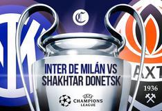 Inter vs. Shakhtar EN VIVO: horarios y canales para ver el partido de Champions
