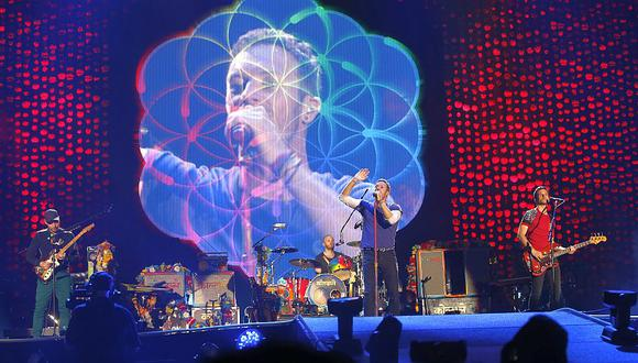 Coldplay ofreció espectacular concierto en el Estadio Nacional