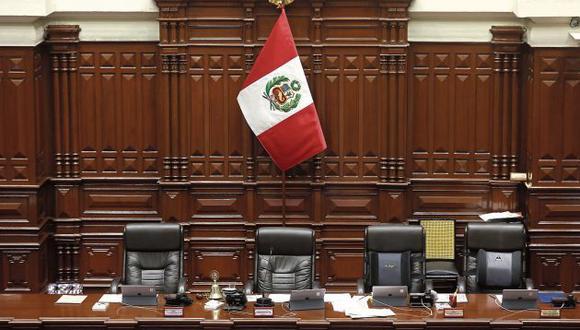 Al momento, hay dos listas anunciadas para la Mesa Directiva del Congreso. (Foto: GEC)