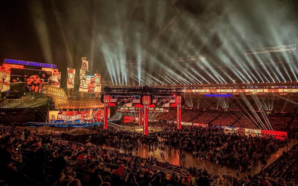 Luego de más de un año, volvió el público a WWE WrestleMania | Foto: WWE