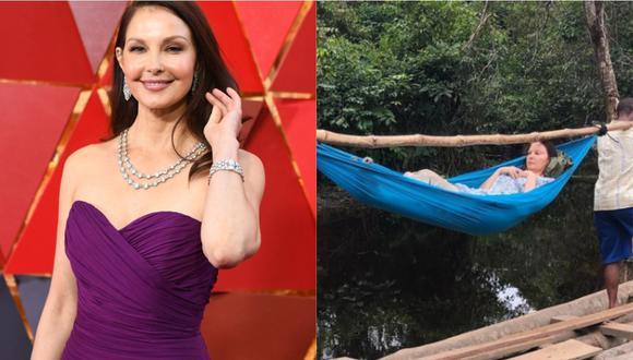 Ashley Judd narra cómo fue su rescate de 55 horas tras romperse una pierna en una selva africana. (Foto: AFP | @ashley_judd)