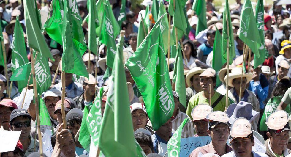 Realizaron protesta para exigir liberación de Gregorio Santos - 3