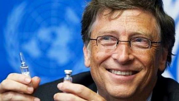 Bill Gates espera una vacuna contra el sida en 10 años