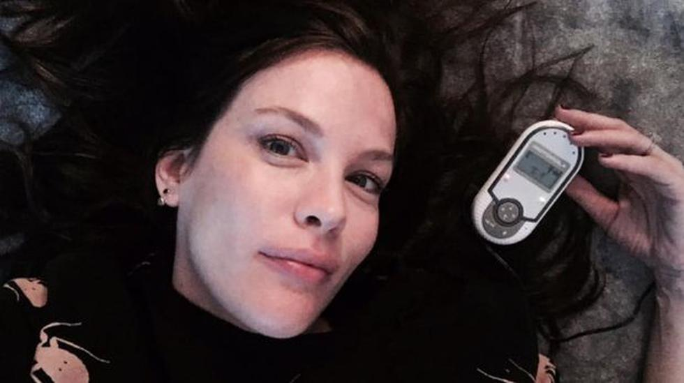 Instagram: Liv Tyler presentó a su hija Lula Rose - 1