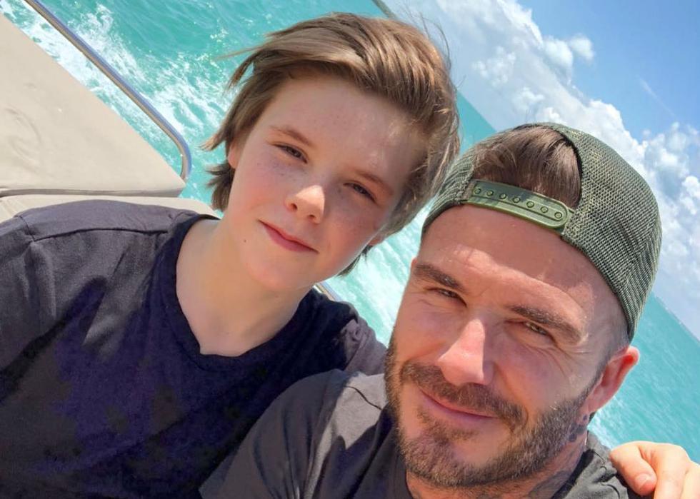 Cruz Beckham se viene transformando en una sensación en Instagram y demuestra su gran talento artístico.  (Foto: Instagram)
