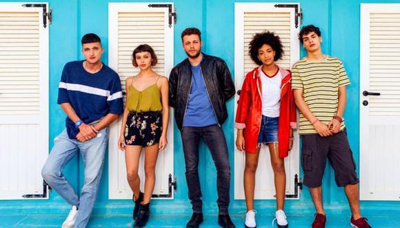 Descubre quiénes son los actores de la serie italiana de Netflix A tres metros sobre el cielo. Foto: Netflix.