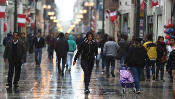 En Lima Oeste, la temperatura máxima llegaría a 18°C, mientras que la mínima sería de 14°C. (Foto: Alessandro Currarino/ GEC)