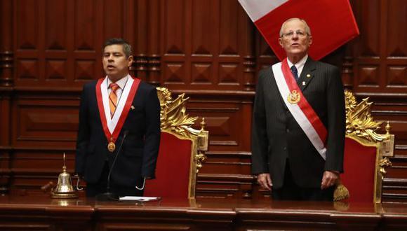 """Este jueves será un día clave para el Gobierno de PPK, pues el pleno del Congreso lo escuchará y resolverá el pedido de vacancia por """"permanente incapacidad moral"""" contra él. (Interactivo: René Zubieta Pacco / El Comercio)"""