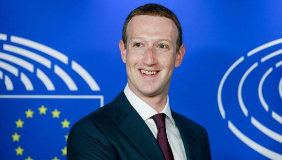 Facebook: Mark Zuckerberg rinde cuentas ante el Parlamento Europeo por pescándalo de Cambridge Analytica. (EFE).