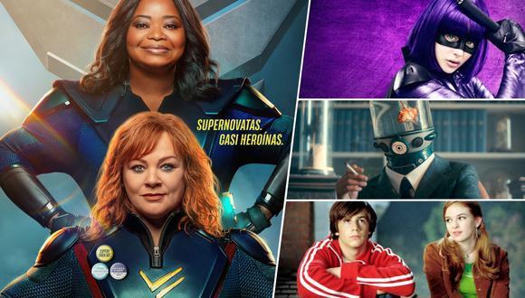"""""""Patrulla trueno"""" llega a Netflix y aprovechamos el estreno para repasar otras películas de héroes fuera del mediático universo de Marvel y DC."""