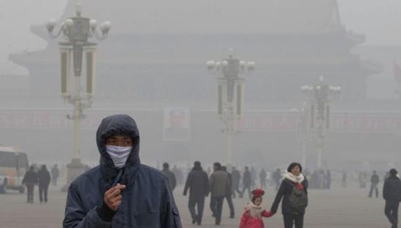 Contaminación del aire causa 3,3 millones de muertes cada año