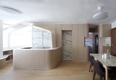 Este departamento minimalista de 55m2 es todo un lujo | FOTOS
