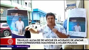 Trujillo: Alcalde de Moche atacó con expresiones machistas a mujer policía