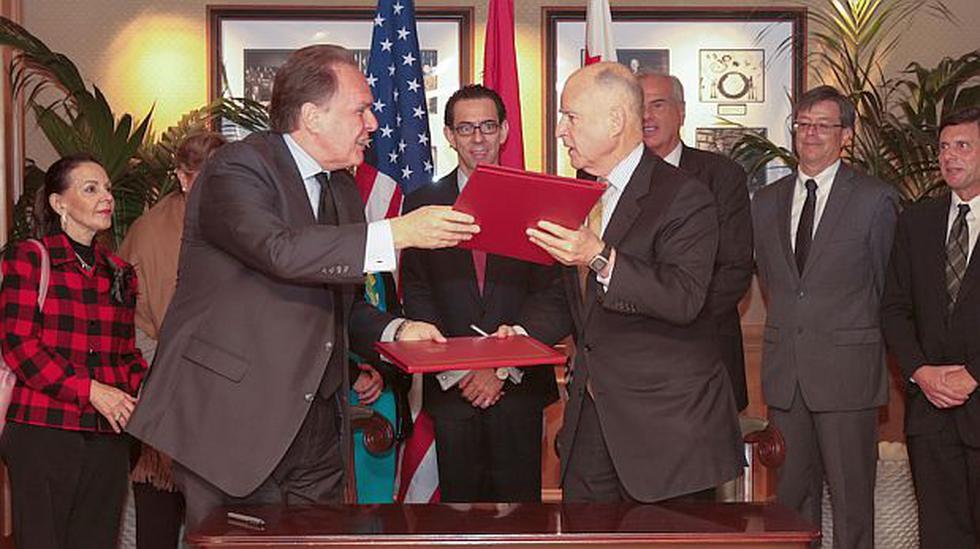 Perú y California firmaron acuerdo comercial y de inversiones - 1