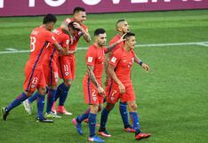 Chile empató con Australia y enfrentará Portugal en 'semis' de la Copa Confederaciones