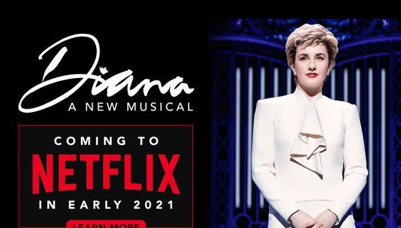 """La inauguración de """"Diana A New Musical"""" fue interrumpida por la pandemia del coronavirus. (Fuente: thedianamusical.com)"""