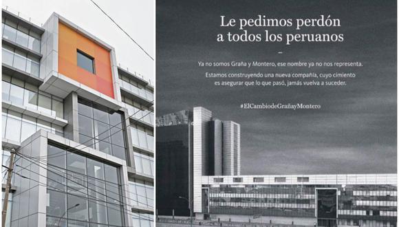 El cambio de imagen se hizo público cuando el viernes 31 de enero se retiró el logo de la empresa de la fachada de sus oficinas principales en la avenida República de Panamá. (Foto: Elaboración propia)