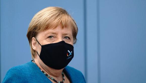 La canciller de Alemania Angela Merkel en una imagen del 28 de agosto del 2020. (Foto: Michael Kappeler / POOL / AFP).