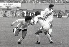 Así fue la histórica marca de Reyna a Maradona durante un partido de eliminatorias