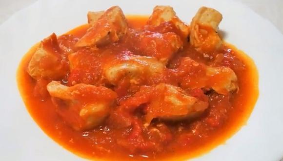 El puré de tomate se puede usar en guisos o pastas y está listo en minutos. (Foto: captura YouTube |  La Cocina de Yaiza)