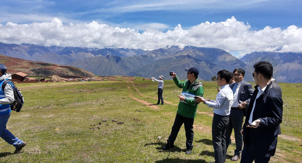 Desde noviembre, los representantes de los consorcios surcoreanos a cargo del proyecto han visitado la zona donde se ejecutarán las obras. (Foto: MTC)