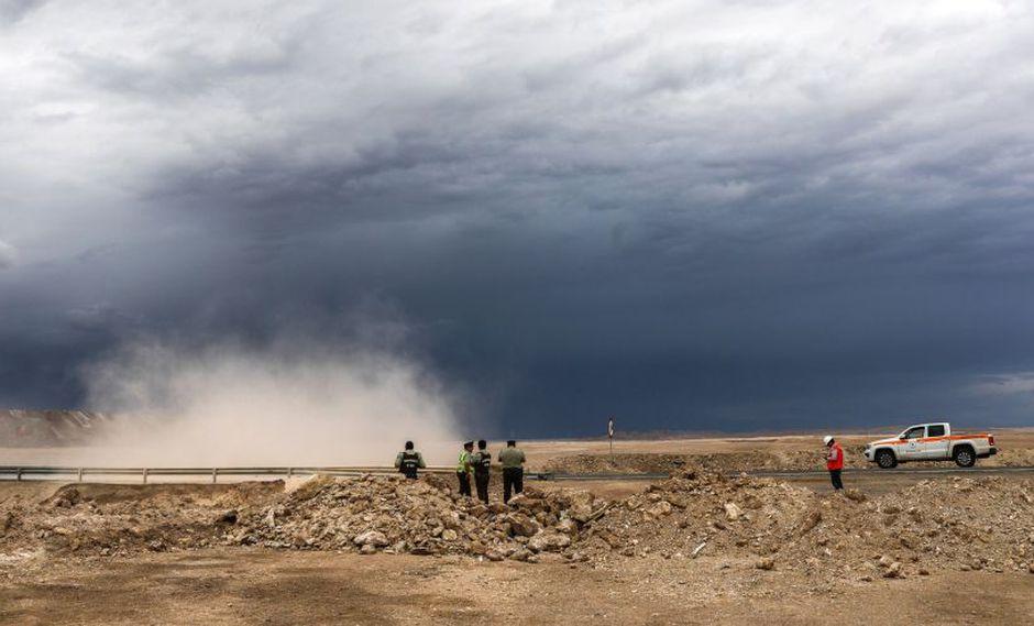 Alertan en Chile por fuertes lluvias en el norte del país en las regiones de Arica, Tarapacá, Antofagasta y Parinacota para el martes y miércoles. (Reters)