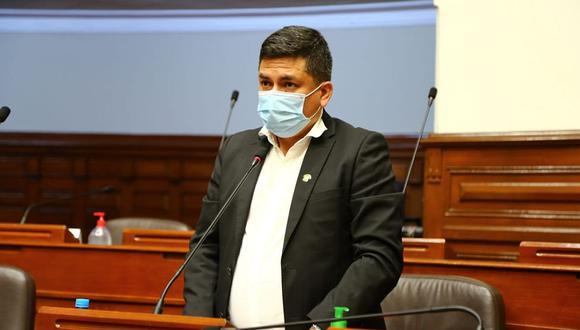 Moisés González era congresista no agrupado desde que renunció al partido y a la bancada de Alianza Para el Progreso. (Foto: Congreso)