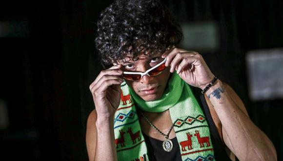"""Alejandro Salazar, conocido como A.Chal, colaboró con la cantante Lalli Espósito en el tema """"100 grados"""". (Foto: Alessandro Currarino)"""