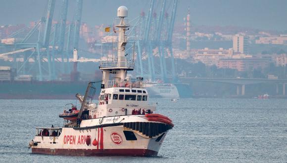 Open Arms: Italia cancela la prohibición de Salvini contra barco que lleva cerca de 150 migrantes. Foto: Archivo de AFP