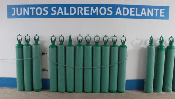 La Municipalidad de San Miguel en cooperación con la Pontificia Universidad Católica del Perú inauguran una moderna planta de oxigeno medicinal para abastecer gratuitamente de este importante elemento vital a las personas que están luchando contra el COVID-19.(Foto: Municipalidad de San Miguel)