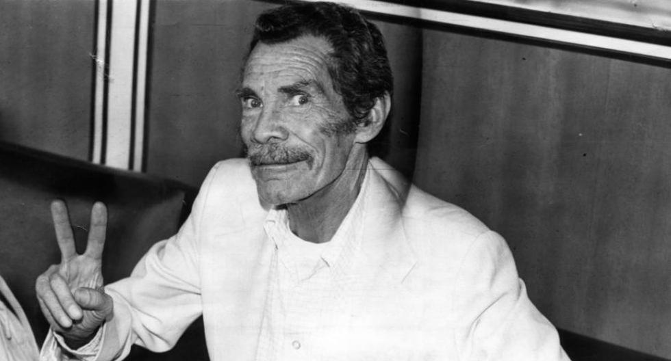 Un día como hoy, pero en 123, nació el actor mexicano Ramón Valdés, quien interpretó a Don Ramón en 'El Chavo del Ocho'. (Foto: Archivo Archivo Histórico El Comercio)