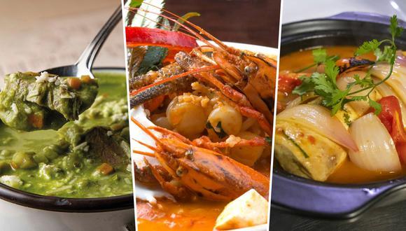 La Picante, Panchita y El Bodegón, entre los lugares con las mejores sopas, según los chefs consultados en este artículo. (Fotos: Facebook)