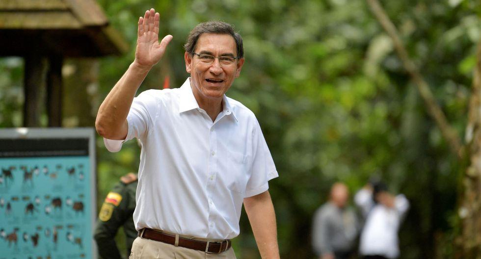 Martín Vizcarra obtuvo el permiso del Congreso esta semana para participar en la cumbre internacional por la amazonía. (Difusión)