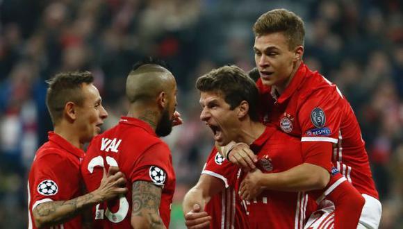 Bayern Múnich aplastó 5-1 al Arsenal por octavos de Champions