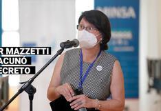 Pilar Mazzetti: Las veces que la exministra negó haberse vacunado contra la COVID-19
