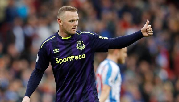 Wayne Rooney, de 32 años, será traspasado a la Major League Soccer. El ex delantero de Inglaterra dejará Everton para continuar su carrera en Estados Unidos. (Foto: Reuters)