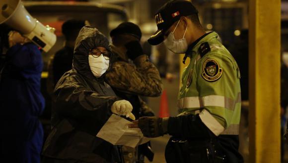 La Policía recibirá un bono extraordinario de S/ 720. (Foto: Andrés Paredes | GEC)