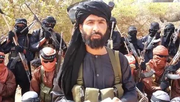 Adnan Abu Walid al Sahraoui era oriundo del Sáhara occidental. (Foto: captura de pantalla)