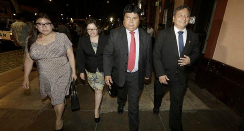 El bloque de Kenji Fujimori en la bancada de Fuerza Popular definirá en los próximos días su postura tras el proceso disciplinario. (Foto: Archivo El Comercio)