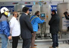 Huancavelica: más de 160 mil personas se beneficiarán con planta de oxígeno implementada en hospital departamental