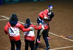 Así fue el último punto de Nicolás Álvarez y la celebración del equipo peruano en la Copa Davis | VIDEO
