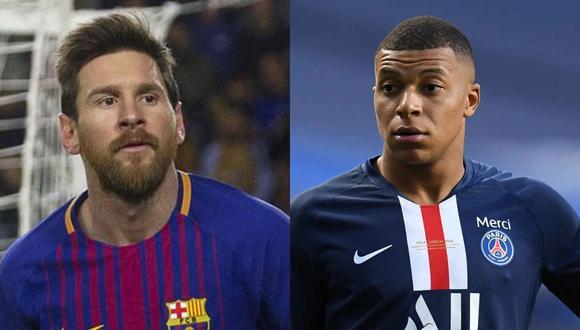 PSG deberá decidir si vende a Kylian Mbappé para fichar a Lionel Messi. (Fotos: AFP/EFE)