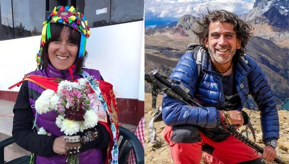 """""""Costumbres"""" es conducido por Sonaly Tuesta y """"Reportaje al Perú"""" por Manolo del Castillo. (Foto: Instagram @reportajealperuoficial)"""