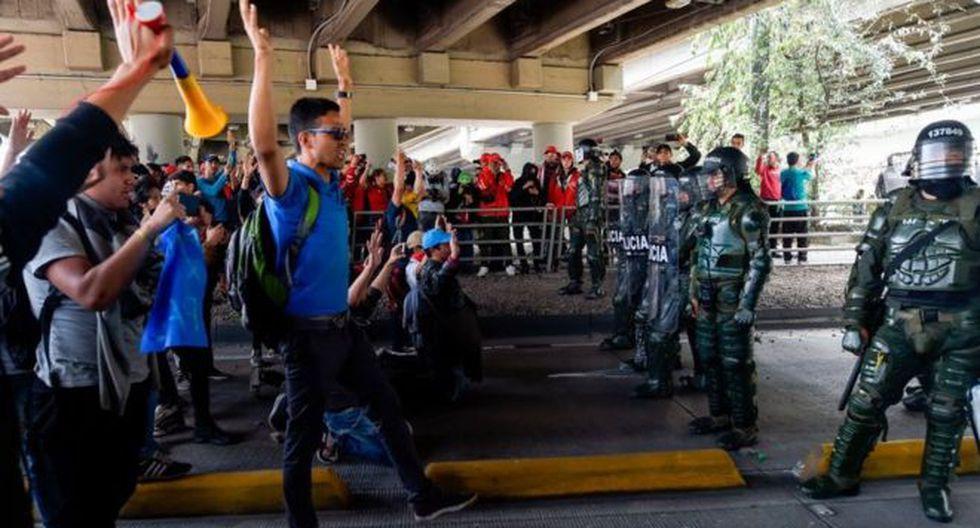 El gobierno movilizó un dispositivo policial y militar en distintos puntos del país. (Foto: Getty Images, vía BBC Mundo).