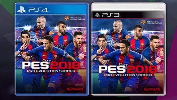 Fc. Barcelona será la imagen del PES 2018. (Foto: Konami)