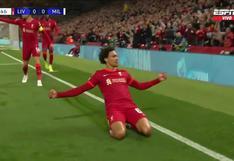 Liverpool vs. Milan: Alexander-Arnold puso 1-0 a 'Reds' en Anfield | VIDEO