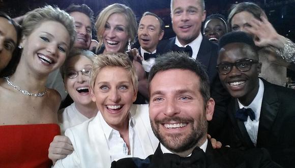Ellen DeGeneres contó cómo se hizo el 'selfie' del Oscar
