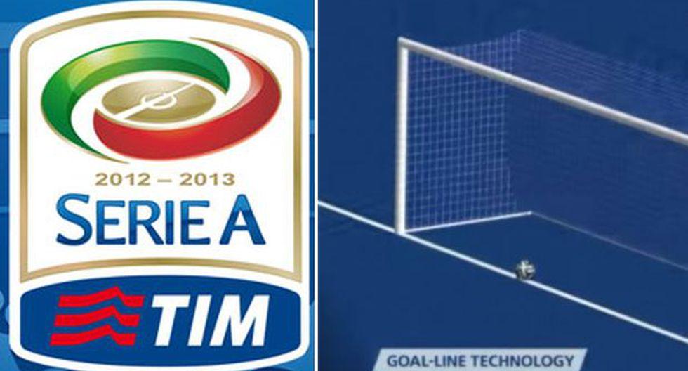 Serie A analiza usar tecnología del gol en la próxima temporada