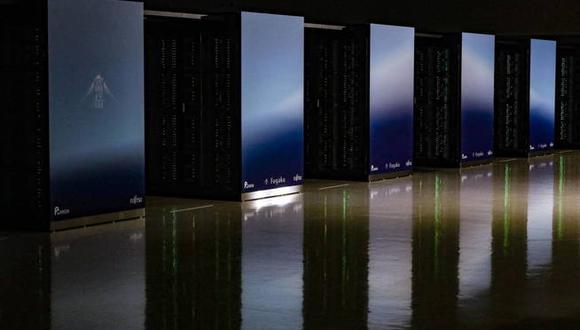 Fugaku ha sido desarrollada por el instituto público de investigaciones japonés Riken. (Foto: EFE)