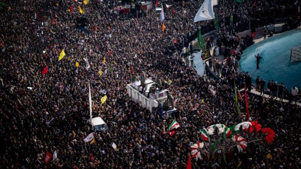 """Muchos en Irán esperan la """"venganza severa"""" prometida por el líder supremo de la República Islámica. (Foto: Getty Images, via BBC Mundo)"""